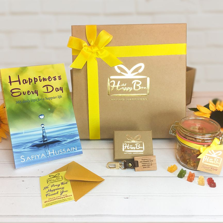 Simply Be Happy Box - islamic gift box